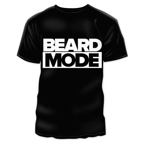 Beard Mode TShirt Boxed - black