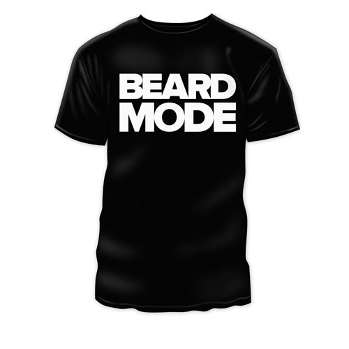 Beard Mode TShirt - black