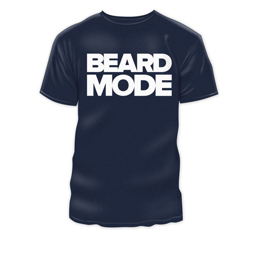 Beard Mode TShirt - navy