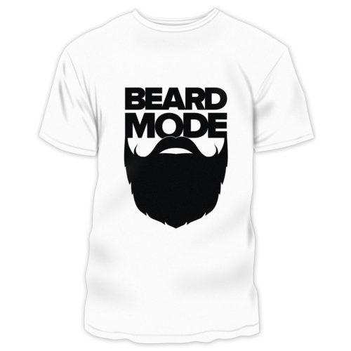 Beard Mode Pro Beard Products - white